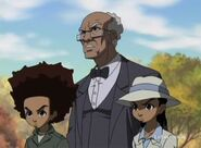 Huey, Riley, and Granddad