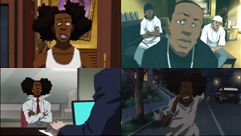 Bitches To Rags The Boondocks Wiki Fandom Powered By Wikia