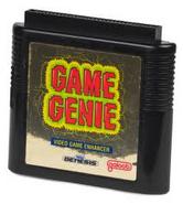 Mega Drive Game Genie