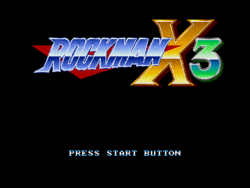 RockmanX3Title