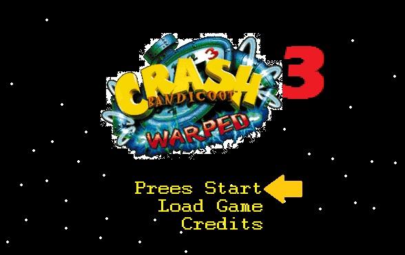 File:Crash Bandicoot Warped Logo.jpg