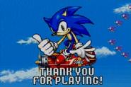 Fighter sonic ending