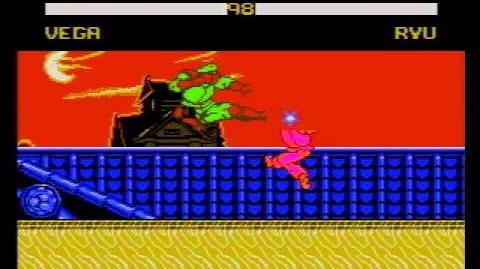 Street Fighter X Turbo 40 (Shitty NES Pirate Game) Gameplay