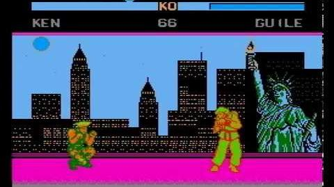 Street Fighter VI (12 Peoples) (Crappy NES Pirate Game) Guile's Original Colour (TEST ONLY)