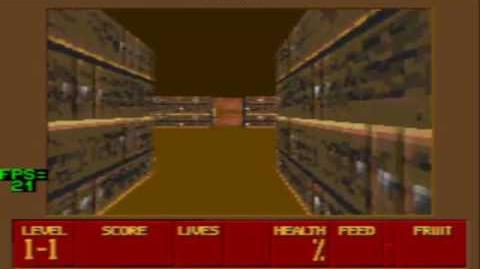 Sega Mega Drive GENESIS Super Noah's Ark 3D DEMO