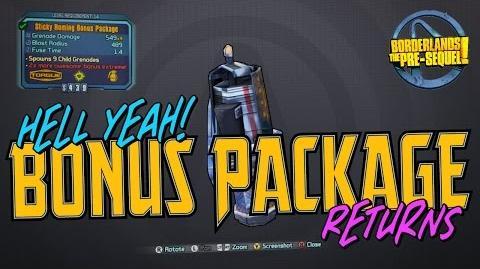 Bonus Package - LEGENDARY Drop (Borderlands the Pre-Sequel)