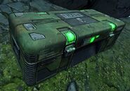 Fry dahl weapon crate green