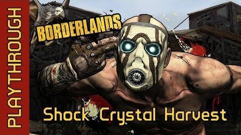 Shock Crystal Harvest