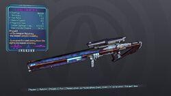 Stability Sniper Rifle 70M Purple Shock