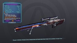 Enterprise Sniper Rifle 70M Purple Fire