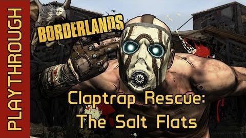 Claptrap Rescue The Salt Flats