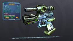 React Blowfly 57 Orange Corrosive