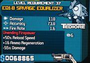 EQ-1B Savage Equalizer 1