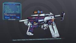 Shokker SMG 70T Blue Shock