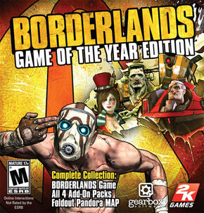 Borderlands Game of the Year Zaph