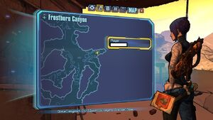 Borderlands2 frostburncanyon echo 3 map