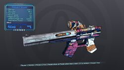 Shokking Arse-Kicker 70 Blue Shock