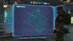 Opportunity Knocks ECHO 2 on map