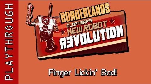 Finger Lickin' Bad!