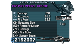 AR440 Pearl Havoc