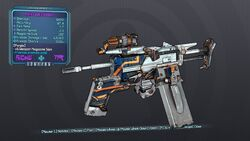 Kwik-Load'd Shooter 70 Purple Cryo