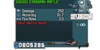 Eridian Rifle