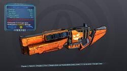 Hard Jack-o'-Cannon 70 Blue Explosive