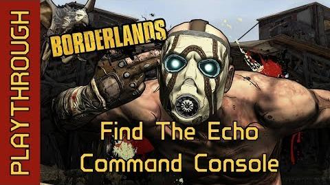 Find The Echo Command Console