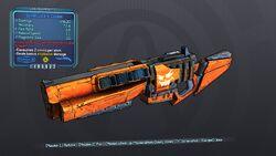 Sinewy Jack-o'-Cannon 70 Blue Explosive