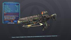 Catalyzing Mining Laser 70 Blue Fire