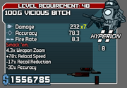 100.G Vicious Bitch (Hacked SMG)