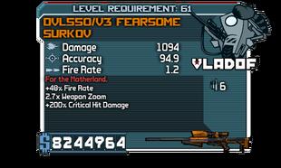 V3 Fearsome Surkov