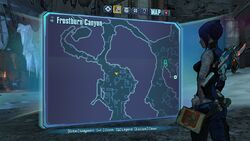 Borderlands2 fire totem 7 map
