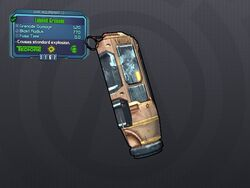 LV 13 Lobbed Grenade