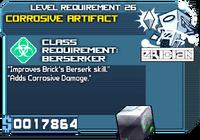 Artifact corrosive lvl3