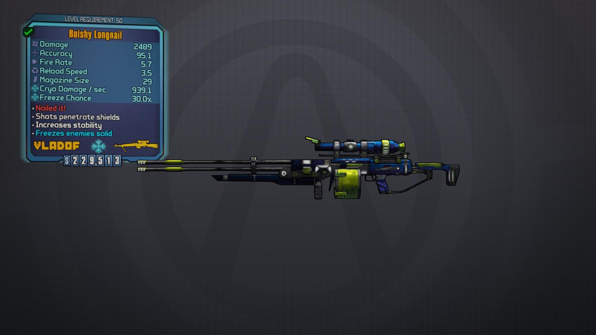 Borderlands 2 legendary equipment