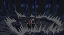 Sakura's powerful punch