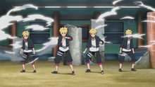 Boruto's Shadow Clone Technique