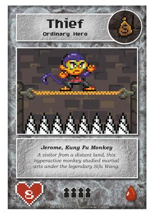 BMA079 Jerome, Kung Fu Monkey