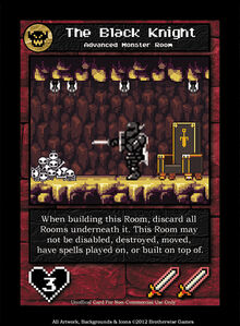 ROOM, FIGHTER, THE BLACK KNIGHT