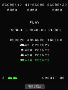 Spaceinvadersredux