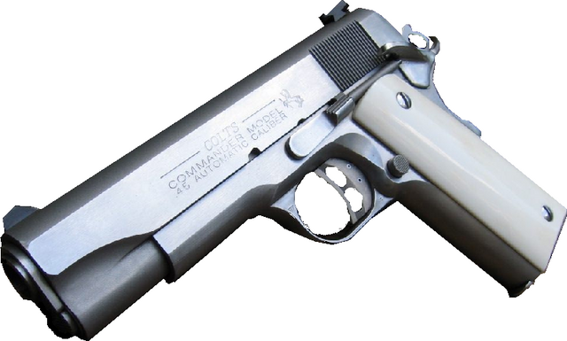 File:M1911A1 with Ivory Grip.png