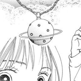 Saturn-necklace