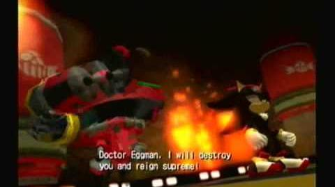 Shadow the Hedgehog - Part 3 WORST. ROBOT. EVER.