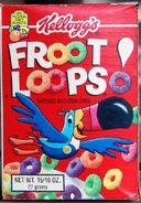 Froot Loops box (16 oz.) 1994