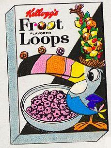 Froot Loop box circa 1963