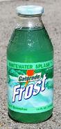 Gatorade Frost Wihitewater Splash glass bottle 1998