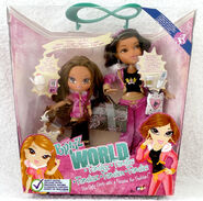Bratz World Familiez Yasmin & her mom Portia