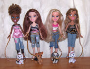 Bratz Pampered Pupz Dolls