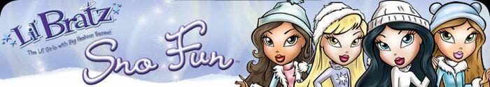 Lil' Bratz Sno Fun Header